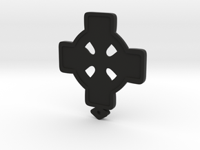 Celtic Cross in Black Strong & Flexible