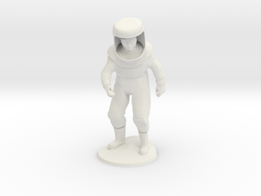 hazmat DUDE in White Natural Versatile Plastic