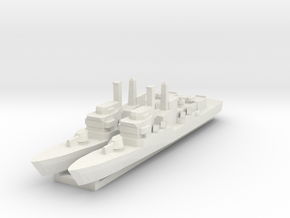 Lupo 1:2400 x2 in White Natural Versatile Plastic