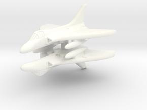 1/600 Douglas Skyray (WSF) in White Processed Versatile Plastic