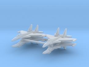 Su-37 1:700 x4 in Smooth Fine Detail Plastic