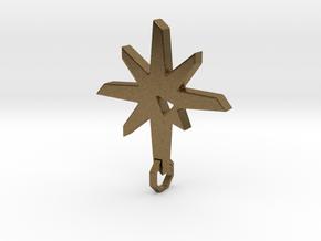 New Pendant V2 Final in Natural Bronze