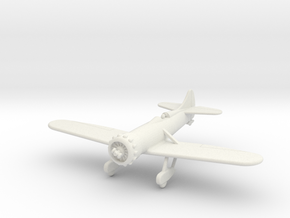 GAAR08 Gee Bee Y 1933 in White Natural Versatile Plastic