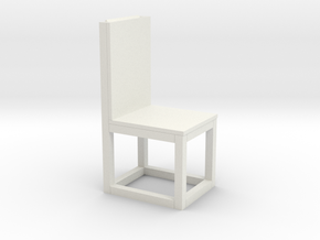 chair print 3d in White Natural Versatile Plastic