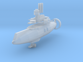Bojo Class Light Cruiser in Smooth Fine Detail Plastic