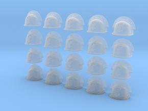 20 Heroic/TrueScale Custom Shoulder Pad Open Hand in Smooth Fine Detail Plastic