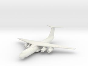Il-76 1:600 x1 in White Natural Versatile Plastic
