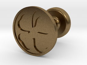 Four Leaf Clover Wax Seal in Natural Bronze