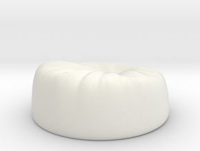 Beanbag in White Strong & Flexible