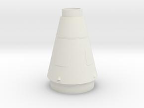 Juno II Rocket Mid Stage 1:48 in White Natural Versatile Plastic
