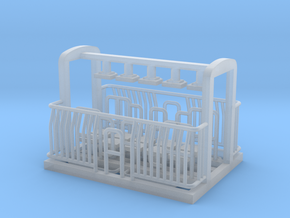 AG/FM Van Handrails, NZ, (HO Scale, 1:87) in Smooth Fine Detail Plastic
