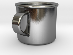1/6 Scale WWII British Drinking Cup (1) in Polished Silver