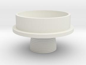 Juno II Rocket Base 1:48 in White Natural Versatile Plastic