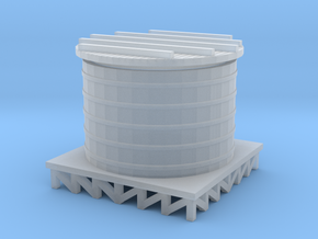 Storage Tank - Zscale in Smooth Fine Detail Plastic