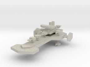 Rottis Class Heavy Cruiser in Natural Sandstone