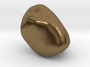 Pisiform in Natural Bronze