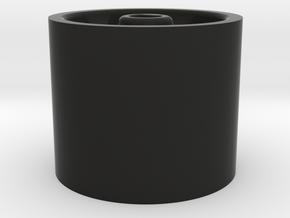 Trouble Wheel in Black Natural Versatile Plastic