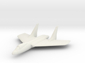 F7U Cutlass 1:300 x1 in White Natural Versatile Plastic