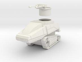 GV06 28mm Sentry Tank in White Natural Versatile Plastic