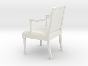 1:24 Sheraton Chair (Not Full Size) in White Strong & Flexible