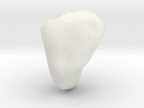 Hamate in White Natural Versatile Plastic