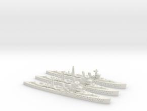 HMS Cairo (C class) 1:1800 x3 in White Natural Versatile Plastic
