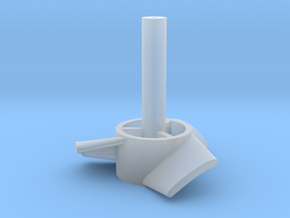 chris 10mm rotor in Smooth Fine Detail Plastic