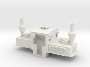 B-1-43-pechot-bourdon-1a in White Natural Versatile Plastic