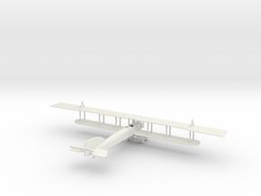 1/144 Short Bomber in White Natural Versatile Plastic