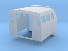 HO 1-87 Scale BQ23-7 Cab in Smooth Fine Detail Plastic