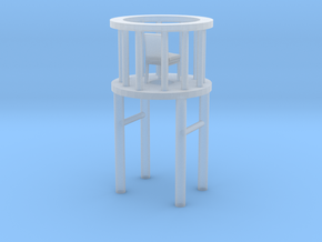 Chair Home in Smooth Fine Detail Plastic