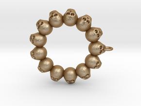 Thirteen Skull pendant in Stainless Steel