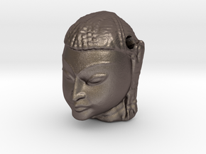 My Buddha ! in Polished Bronzed Silver Steel