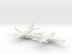 1/700 Boeing 737-700 in White Natural Versatile Plastic