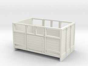 Sn2 Sheep wagon in White Natural Versatile Plastic