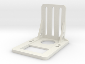 FPV Servo Mount V2 in White Natural Versatile Plastic