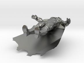Batman Injustice in Natural Silver