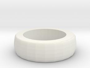 Bracelet 2  in White Natural Versatile Plastic