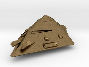 Dwarven Armor-Clad Pyramoid in Natural Bronze