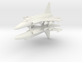 1/350 JF-17 Thunder (x2) in White Natural Versatile Plastic