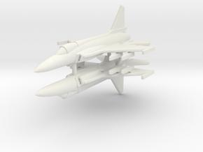 1/350 JF-17 Thunder (x2) in White Natural Versatile Plastic