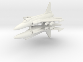 1/285 JF-17 Thunder (x2) in White Natural Versatile Plastic