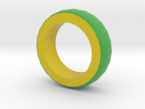 Green And Yellow Bracelet 2 in Full Color Sandstone