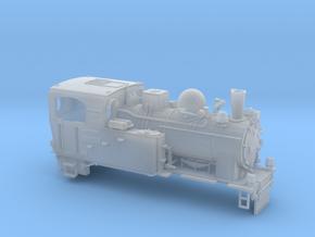 Schmalspurdampflok BR 996101 in TTm (1:120) in Smooth Fine Detail Plastic
