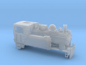Schmalspurdampflok BR 996102 in TTm (1:120) in Smooth Fine Detail Plastic