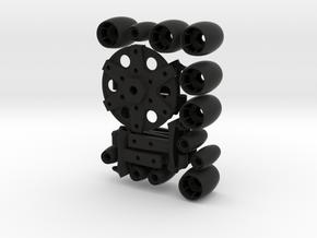 Omniwheel in Black Strong & Flexible