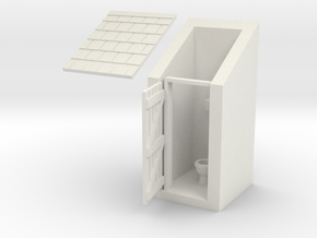 Outdoor Privy in White Strong & Flexible