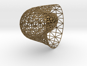 Shell mesh in Natural Bronze