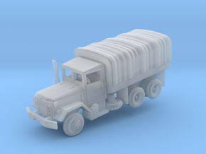 M35A2 2.5t Duce with tarp in Smooth Fine Detail Plastic: 1:200