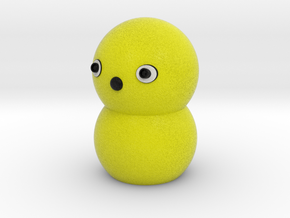 Keepon full-scale model in Full Color Sandstone